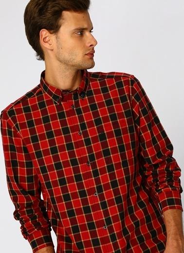 Lee&Wrangler Gömlek Kırmızı
